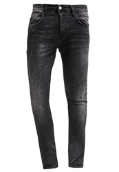 Chasin' Jagger Slim Fit Jeans Onyx Dark Gray