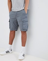 French Connection Utility Cargo Shorts Grey