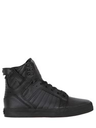 Supra Skytop Leather High Top Sneakers