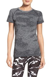 Hpe Women's Camo Tee Dark Grey