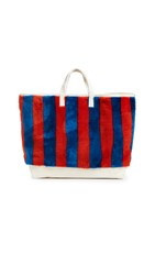 Kule The Shearling Tote Poppy Royal Blue