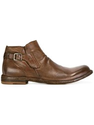 Officine Creative Sug Hero Boots Brown