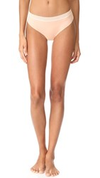 Cosabella Laced In Aire Lowrider Thong Nude Rose