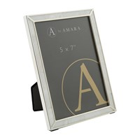 Amara Silver Photo Frame With Mother Of Pearl 5X7