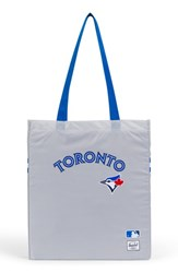 Herschel Supply Co. Packable Mlb American League Tote Bag Grey Toronto Blue Jays