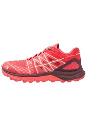 The North Face Ultra Vertical Trail Running Shoes Light Red