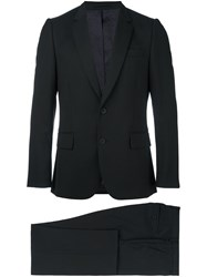 Paul Smith Chest Pocket Formal Suit Black