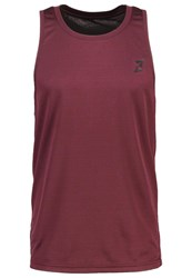 Your Turn Active Vest Winetasting Dark Purple