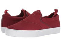 Diamond Supply Co. Boo J Xl Burgundy Slip On Shoes