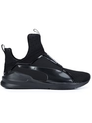 Puma Extended Sole Textured Sneakers Black