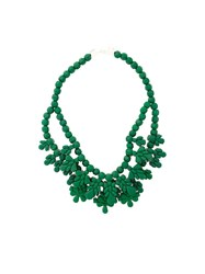 Ek Thongprasert Beaded Necklace Green