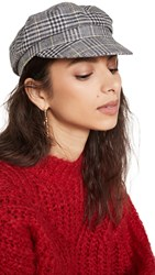 Isabel Marant Evie Newsboy Hat Yellow Grey