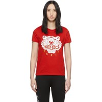 Kenzo Red Limited Edition Chinese New Year Classic Tiger T Shirt