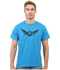 Mountain Hardwear Nut Up S S Tee Heather Dark Compass Men's T Shirt Blue