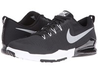 Nike Zoom Train Action Black Metallic Silver Anthracite White Men's Cross Training Shoes