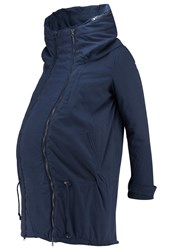 Mama Licious New Tikka Winter Coat Navy Blazer Dark Blue