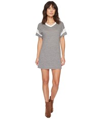 Alternative Apparel Powder Puff Dress Eco Grey Eco Ivory Women's Dress Gray