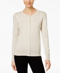 Charter Club Metallic Cardigan Only At Macy's Gold Dust