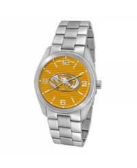 Game Time Men's Missouri Tigers Elite Series Watch Silver