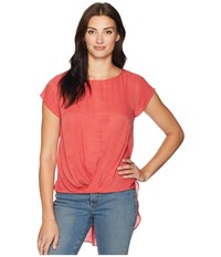 Ariat Chester Blouse Baked Apple Red