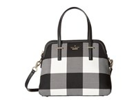 Kate Spade Cedar Street Plaid Maise Light Shale Multi Handbags