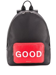 Paul Smith Ps Everyday Good Backpack Black