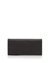 Longchamp Wallet Veau Foulonne Checkbook Black
