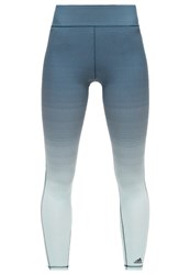 Adidas Performance Miracle Sculpt Tights Utility Green Vapour Green Mint