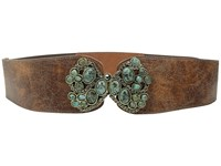 Leather Rock 1556 Cognac Women's Belts Tan