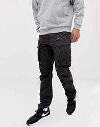 G Star Rovic Zip Cargo Pants 3D Tapered In Black