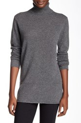 Cullen Cashmere Turtleneck Sweater Gray