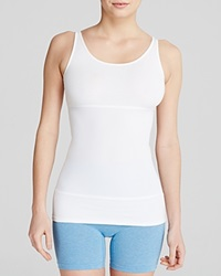 Yummie Tummie Yummie By Heather Thomson Tank Pearl Three Panel Yt1 196 White