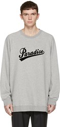 Marc Jacobs Grey Paradise Pullover