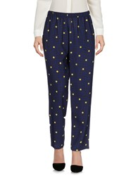 Laura Urbinati Casual Pants Dark Blue