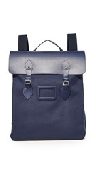The Cambridge Satchel Company Canvas Steamer Backpack Navy