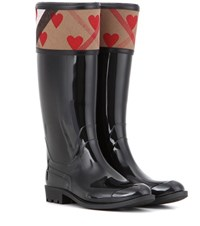 Burberry Rubber Boots Black