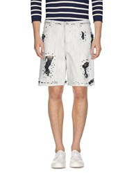 Golden Goose Deluxe Brand Denim Bermudas White