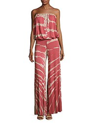 Young Fabulous And Broke Sydney Jumpsuit Light Poppy Red