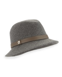 Loro Piana Ingrid Cashmere Storm System Hat Gray