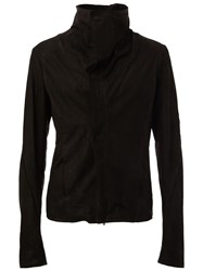 Lost And Found Ria Dunn Oversized Collar Jacket Black