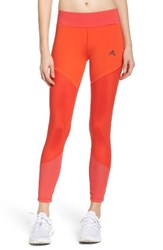 Adidas Women's Wow Drop 1 Climalite Tights Core Red Core Pink