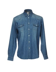 Fradi Denim Shirts Blue