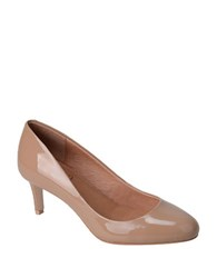Corso Como Linden Almond Toe Leather Pumps Beige