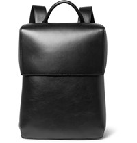 Balenciaga Phileas Full Grain Leather Backpack Black