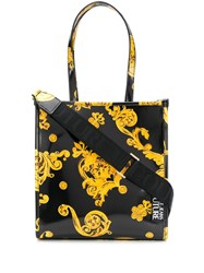 Versace Jeans Couture Baroque Print Tote Bag 60