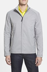 Men's Cutter And Buck 'Blakely' Weathertec Wind And Water Resistant Full Zip Jacket Oxide