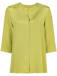 Peter Cohen Loose Fit Blouse Green