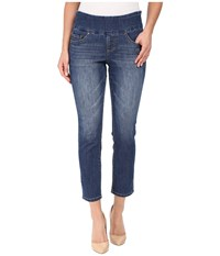 Jag Jeans Petite Amelia Pull On Slim Ankle Comfort Denim In Durango Wash Durango Wash Women's Blue