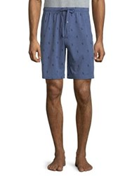 Ralph Lauren Jersey Pajama Short Heather Blue