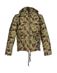 Franklin And Marshall Jackets Military Green